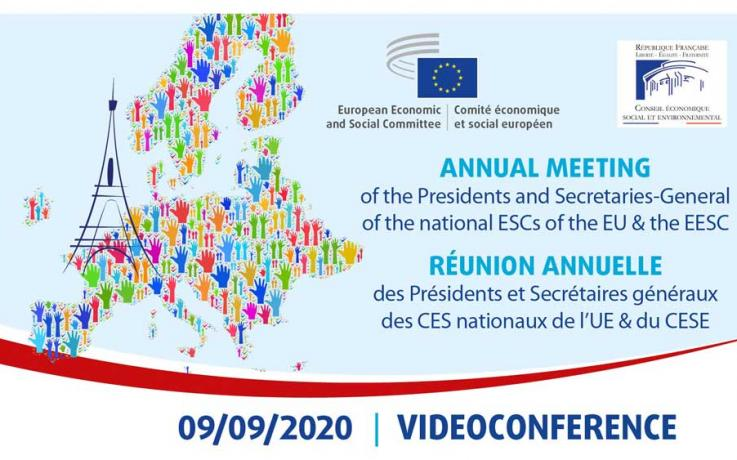 Annual meeting of the Presidents and Secretaries-General of the national ESCs of the EU & the EESC