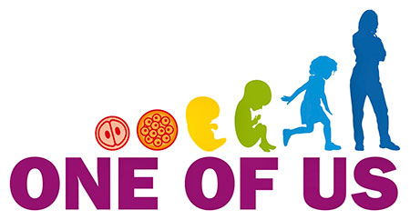 One of us Logo