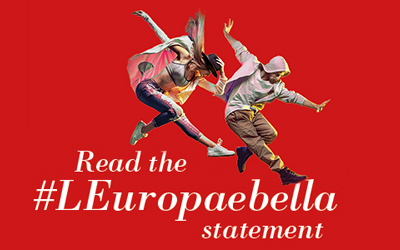 Read the #LEuropaebella statement banner