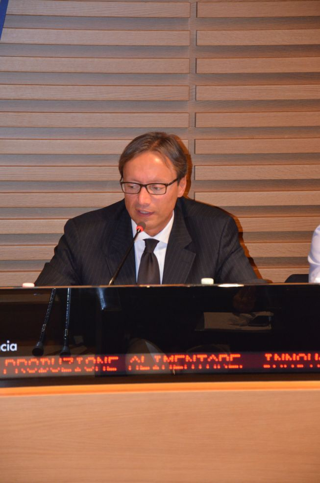 Fabrizio Spada, Head of the European Commission Regional Representation in Milan