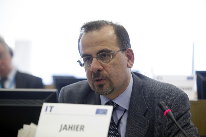 Luca Jahier, President of the Various Interests Group