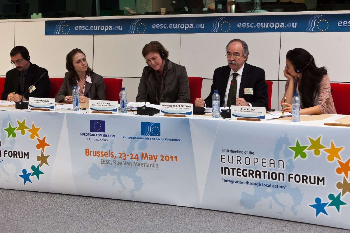 5th meeting of the european integration forum