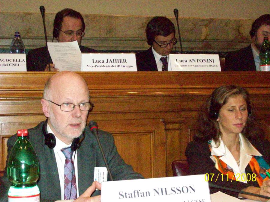 Mr Staffan Nilsson, President of Group III