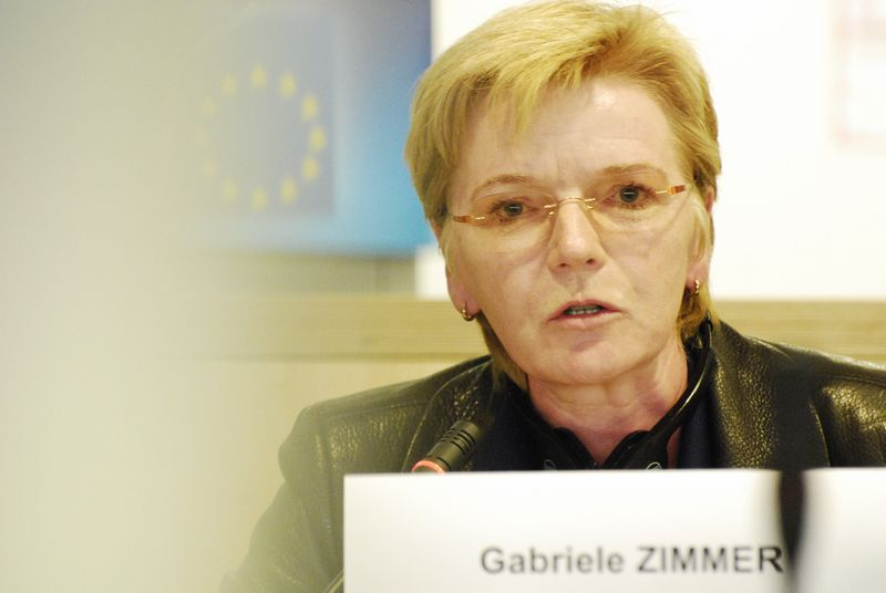 Gabriele Zimmer, Member of the Confederal Group of the European United Left - Nordic Green Left (GUE/NGL)