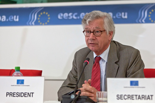 Joost Van Iersel, President of the Europe 2020 Steering Committee