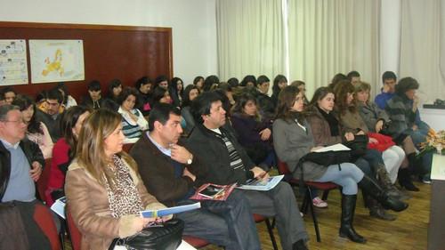 Mr. Pereira Martins, member of the EESC, visits the Escola Secundária Maximinos, Braga, Portugal
