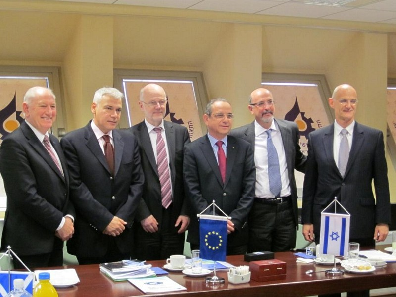 Photo 1 : 28.11. Meeting with ESC of Israel