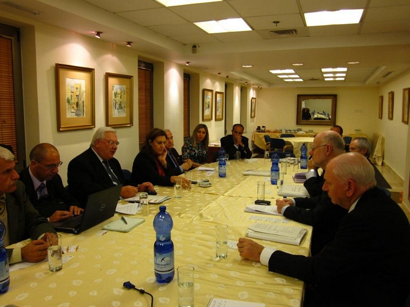 Photo 05 : 29.11. Meeting with Palestinian ESC