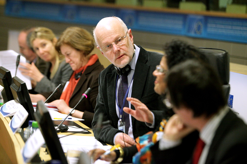 Photo 01 : Staffan Nilsson opens the 4th European Integration Forum