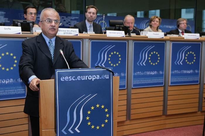 H.E.Mr Abdel Elah AL KHATIB, President ESC of Jordan