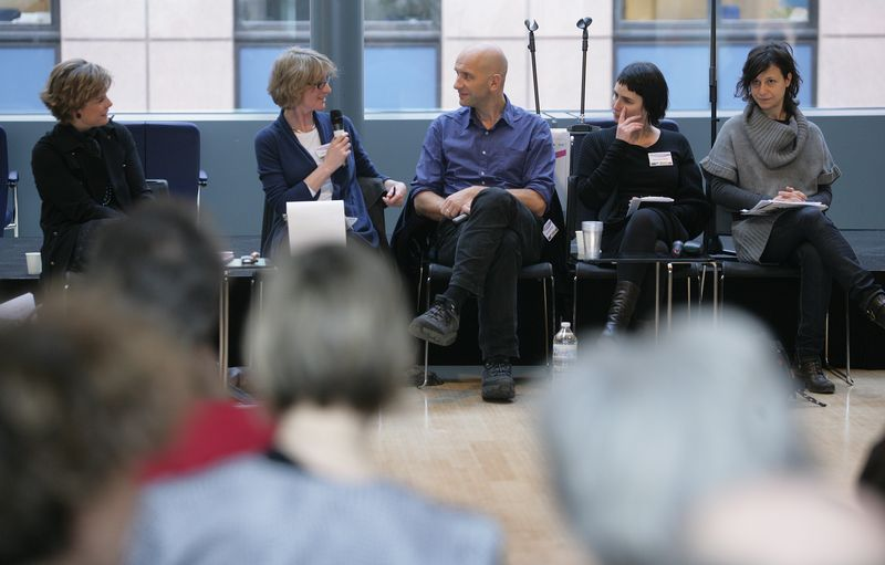 The art panel presents artistic projects and ideas
