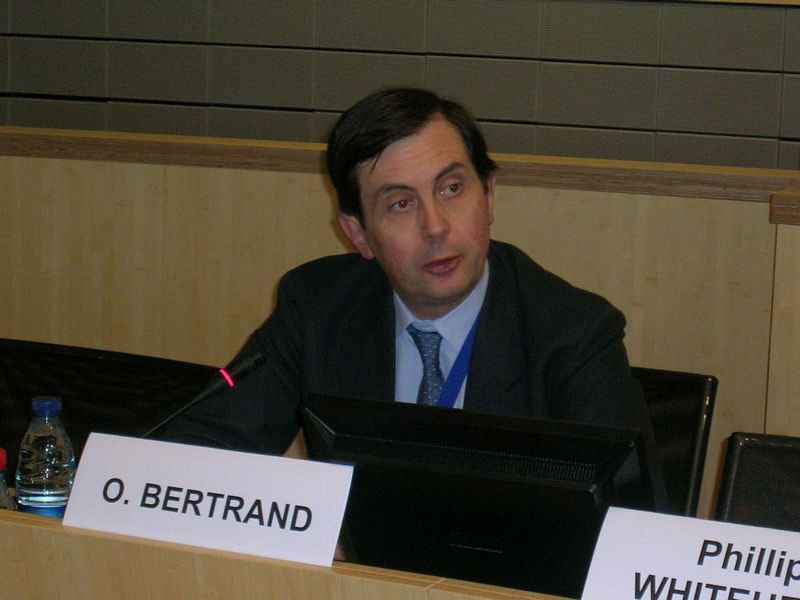 Opening session: Mr Olivier BERTRAND, President of the Commission for Sustainable Development, Committee of the Regions