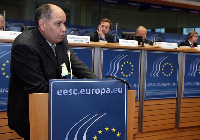 Mr Ali BOUFOUS, Member of CGEM of Morrocco