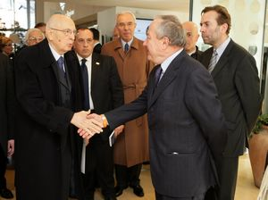 EESC President Mario Sepi meets the President of the Italian Republic Giorgio Napolitano
