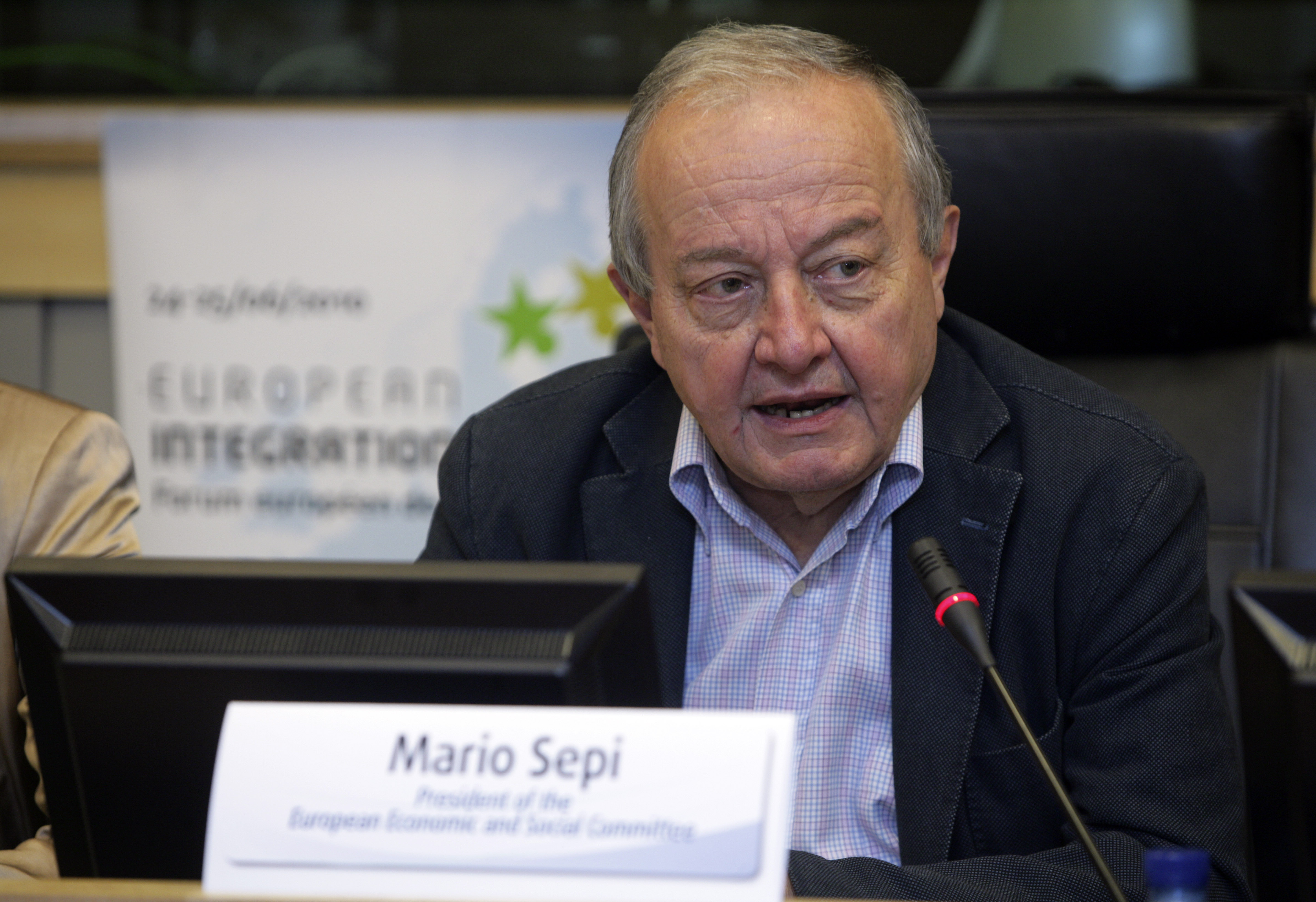 02. Mario Sepi, EESC President, in the opening session