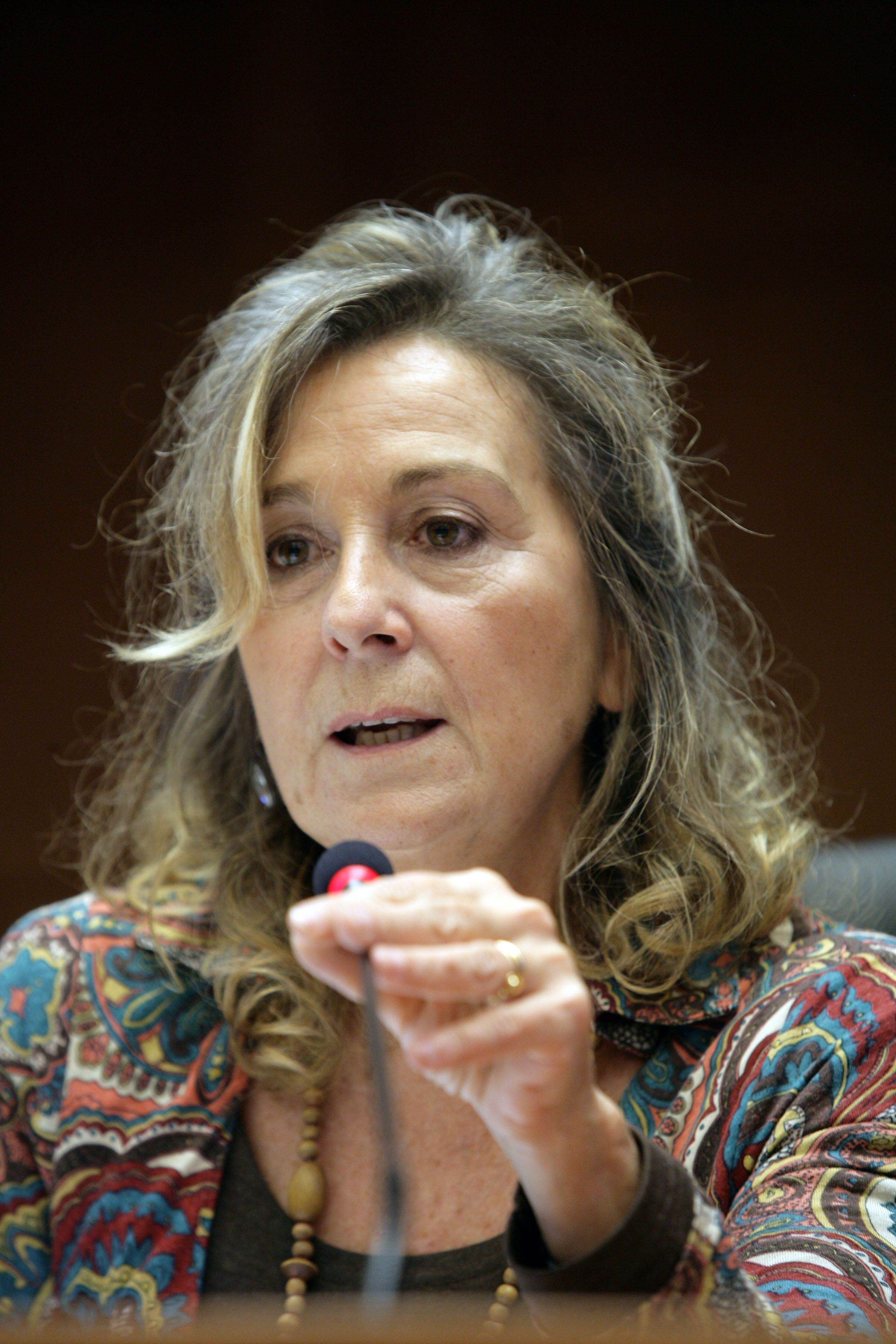 Teresa Petrangolini, Secretary-General of the association CittadinanzAttiva – Active Citizenship Network, Italy, speaking to the EESC plenary assembly