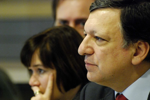 European Commission President José Manuel Barroso at the EESC