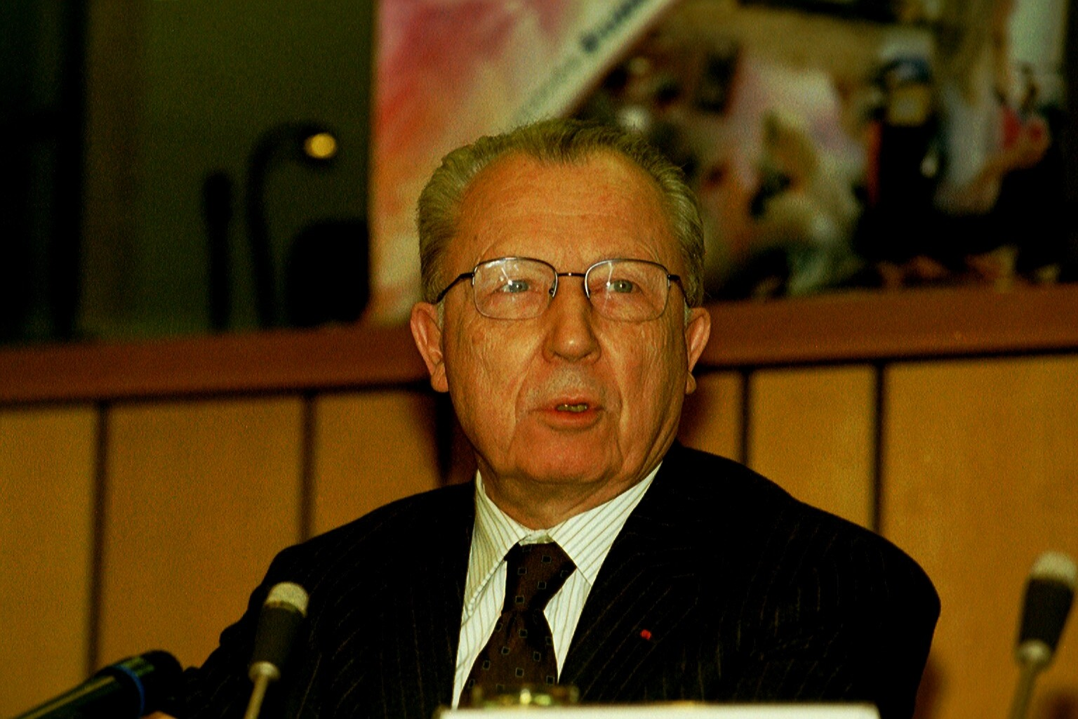 Mr Jacques DELORS, President of the Research and Policy Group Notre Europe