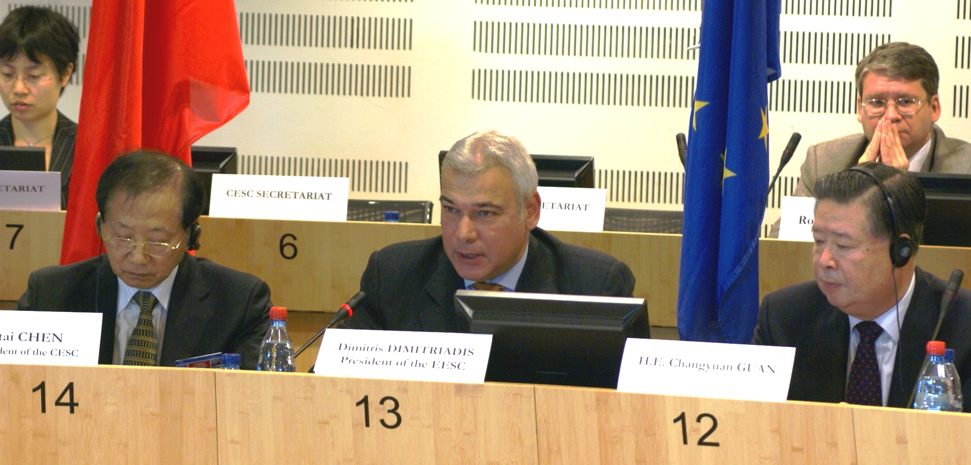 Pictures of the 2nd EU-China Round Table