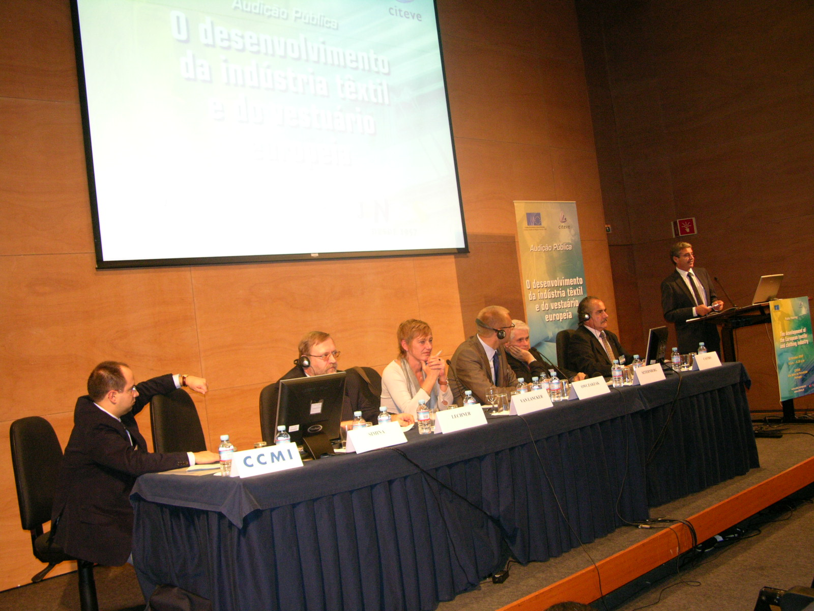 Photo of the hearing