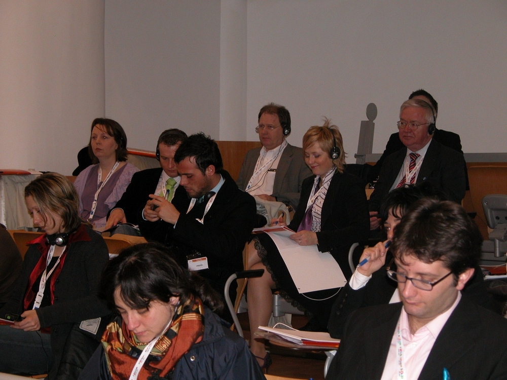 Picture of the delegation in Rome