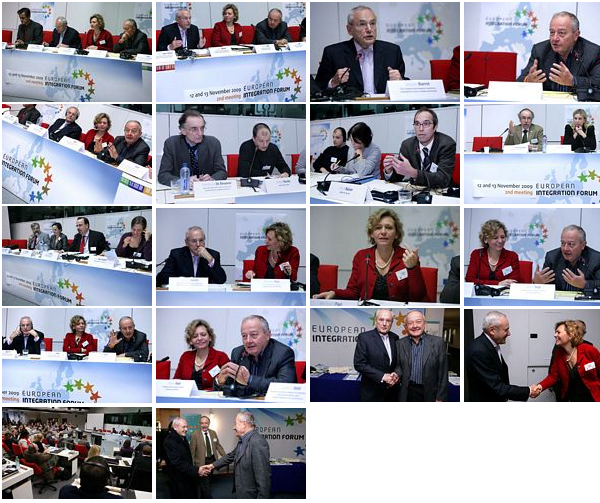 Photos of the 2nd European Integration Forum