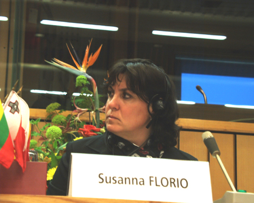 Ms Susanna FLORIO, EESC Member, rapporteur on Economic governance in the EU