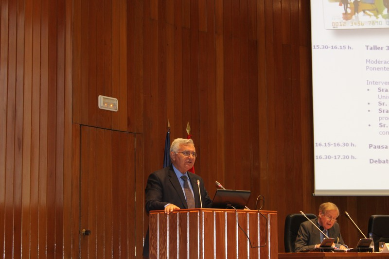 John Dalli speaking at the European Consumersday 2010, Madrid