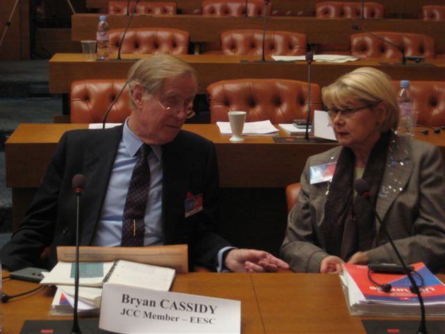Picture of the 25th meeting of the Joint Consultative Committee EU-Turkey, Paris, 18-19 November 2008