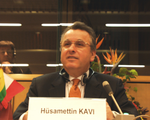 Mr Hüsamettin KAVI, Chairman of the Assembly of the Istanbul Chamber of Industry (Turkey), Co-chairman of the EU/Turkey JCC