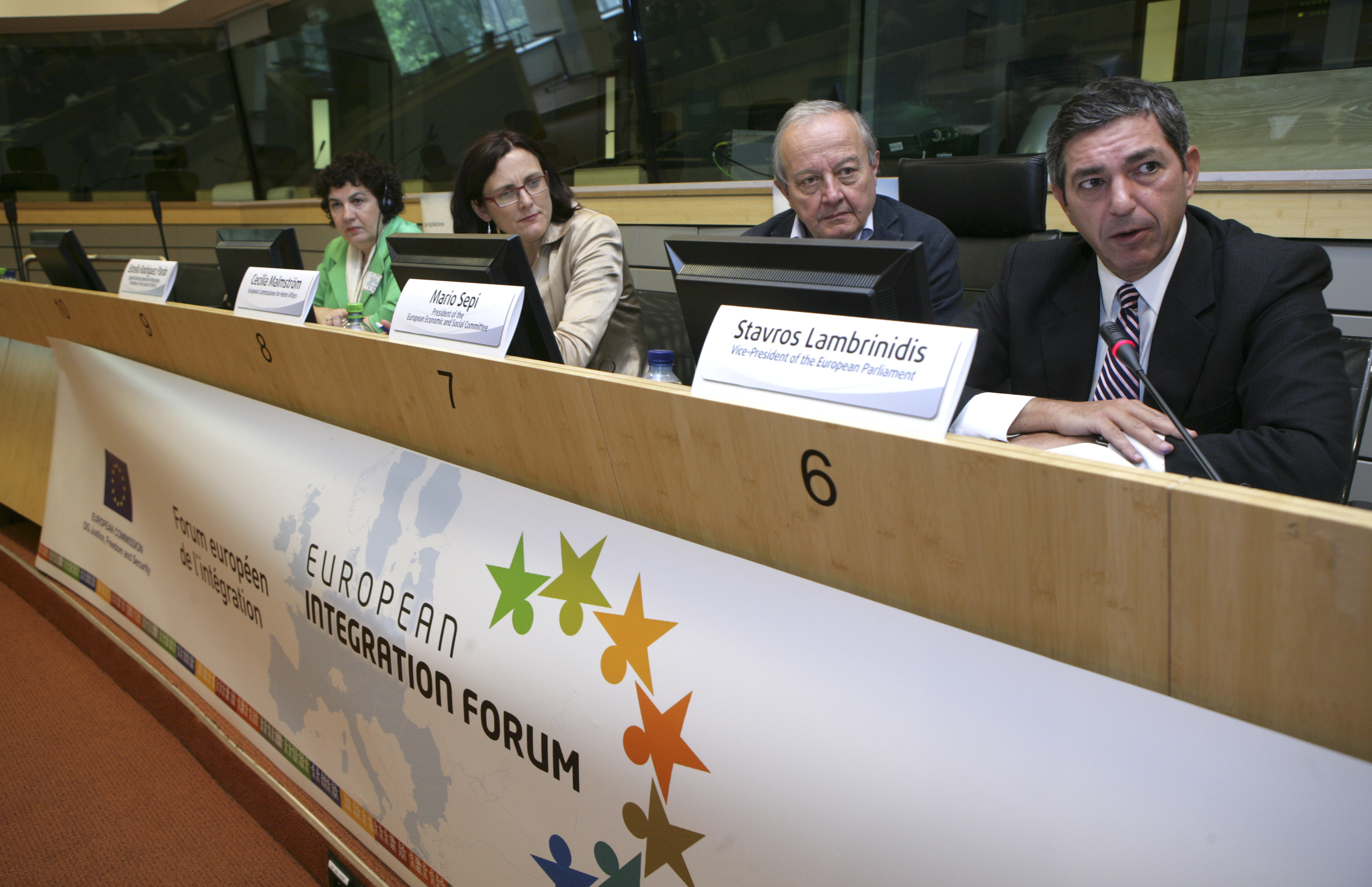 04. Stavros Lambrinidis, Vice-President of the European Parliament, in the opening session