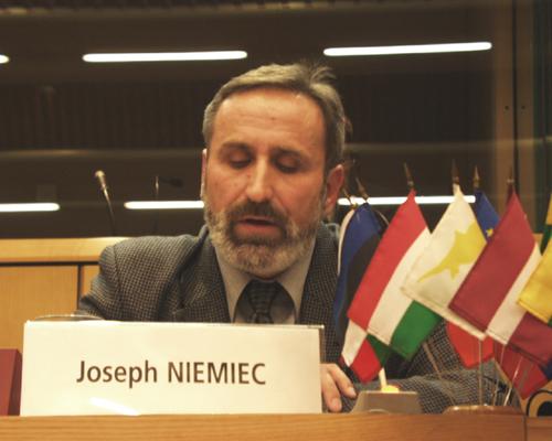 "M. Joseph NIEMIEC, Vice-President, NSZZ ""Solidarnosc"" (Poland)"