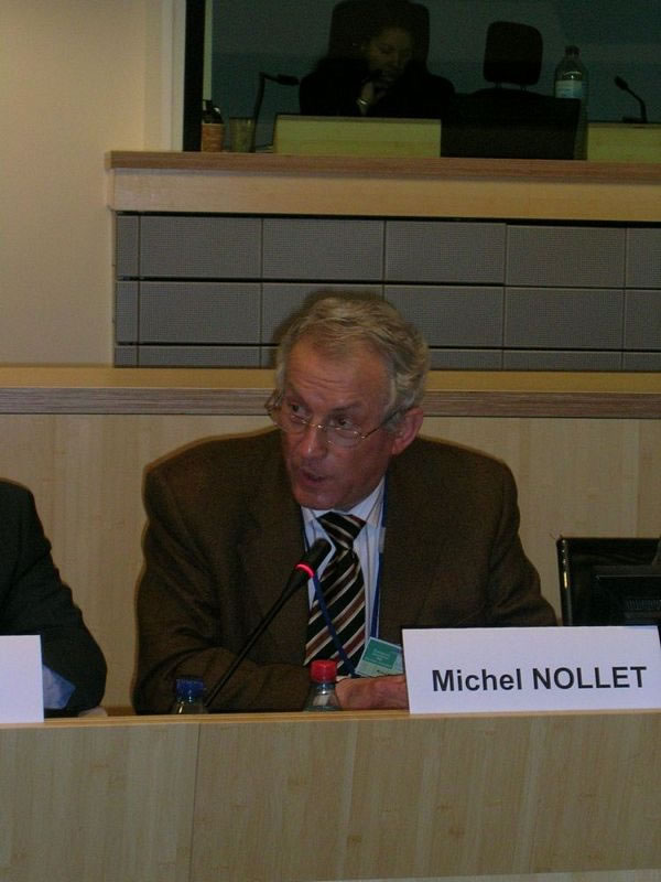 Closing session: Mr Michel NOLLET, Member of the European Economic and Social Committee, Rapporteur of the Panel II