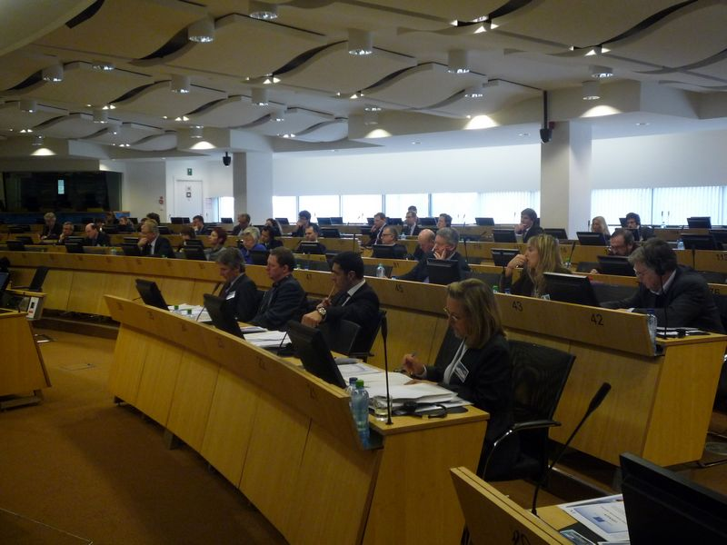 Participants in the maritime conference