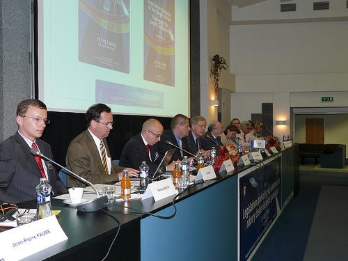 From left to right: Tomas Liskutin, Vit Samek, Jan Hebnar, Radek Pazout, Bryan Cassidy and Jorge Pegado Liz among others