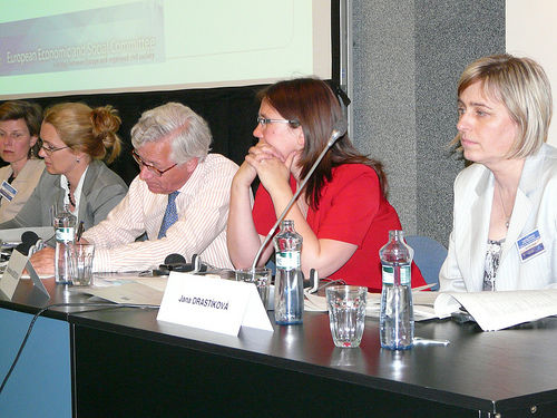 From left to right: Nathalie Berger, Claudia Drewes-Wran, Joost van Iersel, Magdaléna Kubečková, Jana Drastíková
