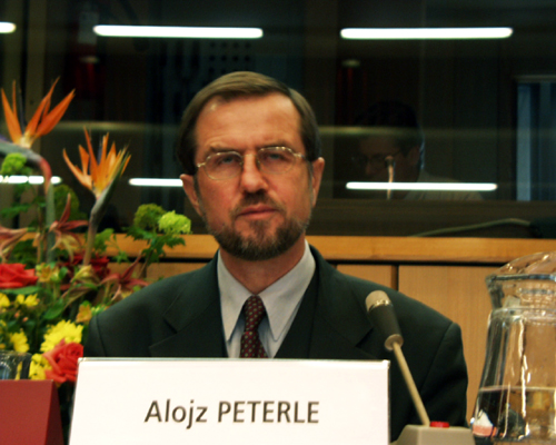 Mr Alojz PETERLE, Chairman of the Committee for European Affairs of the Slovenian Parliament, Member of the Presidium of the European Convention