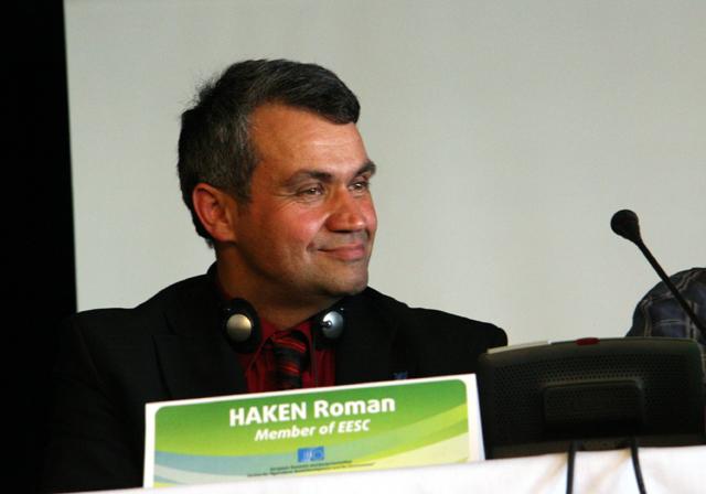 Mr Haken, EESC Member