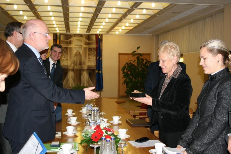 Staffan Nilsson in Lithuania