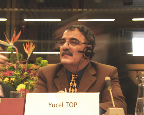 Mr Yucel TOP, Coordinator of the Commission for the integration of Turkey, Turkish Progressive Workers' Union