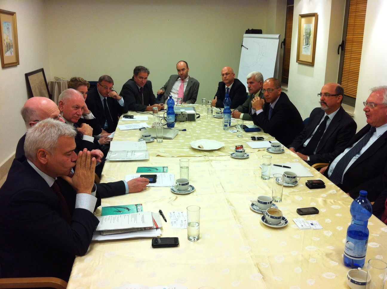 EESC Delegation meeting the Israeli and the Palestinian economic and social councils