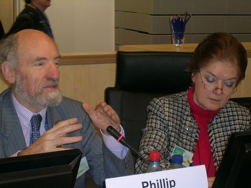 Opening session: Mrs Anne-Marie SIGMUND, President of the European Economic and Social Committee and Mr Phillip WHITEHEAD, Chairman of the Committee on the Internal Market and Consumer Protection, European Parliament