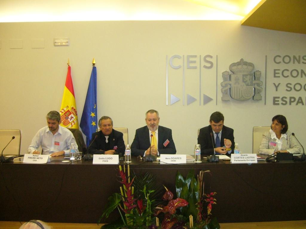Working session civil society