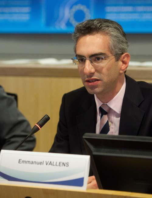Mr Vallens, DG Internal Market and Services