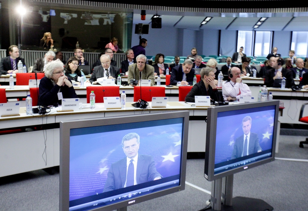 Video-intervention of EU commissioner Günter Oettinger at the Conference: Nuclear Safety: A much needed debate