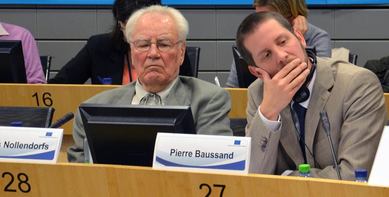 Valters Nollendorfs, Pierre Baussand