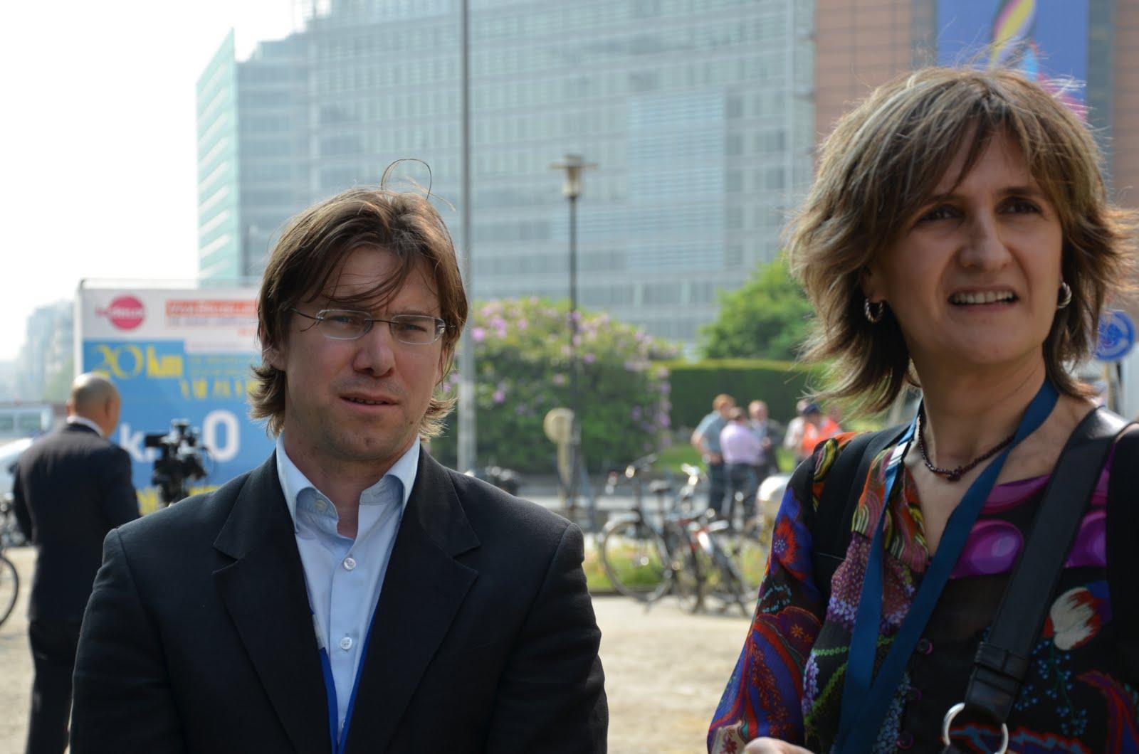 Thomas Janson and Laura González
