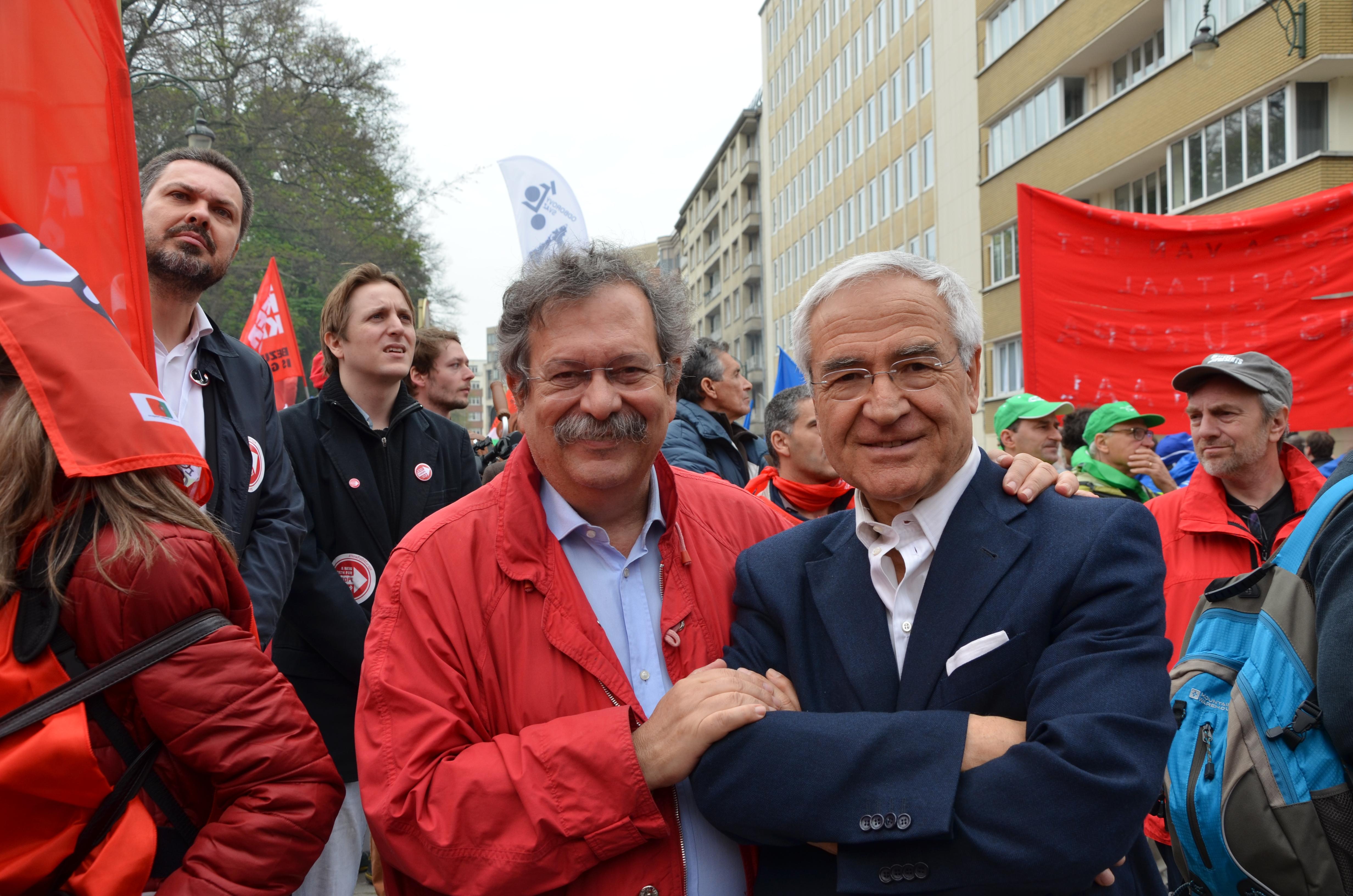 Carmelo Cedrone and Edgardo Iozia