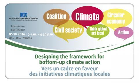 Designing the framework for bottom-up Climate action