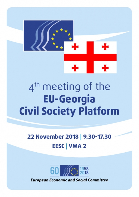 Gegia Calendario.4th Meeting Of The Eu Georgia Civil Society Platform